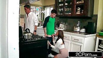 BACKSTORY - Kendra Lust helps her boyfriend get off