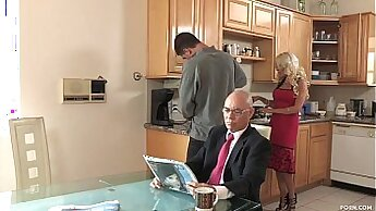 Black cop great Jane Doux in When Father Is Away Stepmom Will Play