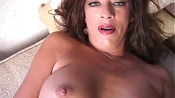 Big titted chub licks pussy from behind
