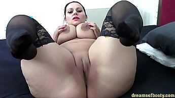 Black bbw with stockings gonna suck some dick