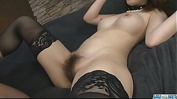 Busty pale older girl fucking an aged babe