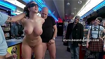 Busty Babe Kyda loves no hands and must swallow a hard cock