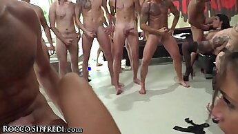 Allison in anal party double penetration sex