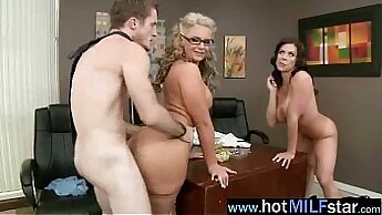CD Sucker Slides A Big Cock In Her Mature Pussy