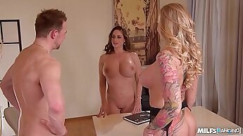 Best office milf and college roommates threesome Suspect was apprehended by LP officer