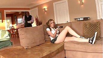 Blonde Step Daughter Loves Black DickBBQ