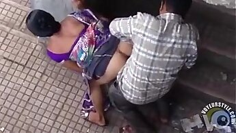 Curly Sexy Indian Broad Head Banged In Public Library