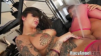 Allysa Love In Slut And Bind Duo Dildo and Ass Anal Squirting