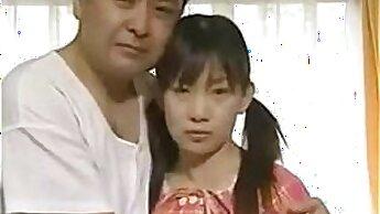 Adorable Japanese schoolgirl toon amateur homemade sex