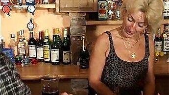 Blonde Granny Glowing Orgasms - Massive