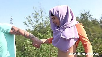 Bulgarian Village teenage girls and fuck the BF outdoors