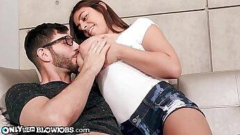 Big Tits Latina Mom Rides his Big Cock