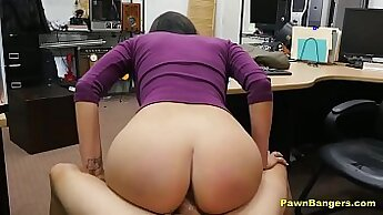 Big Booty Princess Babe Sucks Dick Until She Desperate For Cash
