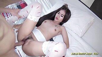 Asian Amateur Ebony Girls cleaning