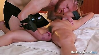 After Massage Husband Watches Her Squirt